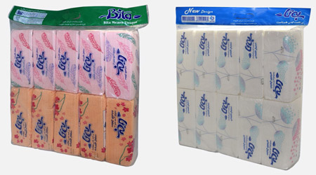 پخش عمده دستمال کاغذی بیتا
